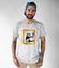 Kot w ramce vintage koszulka z nadrukiem milosnicy kotow mezczyzna werprint 1514 51