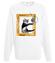 Kot w ramce vintage bluza z nadrukiem milosnicy kotow mezczyzna werprint 1515 106