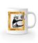 Kot w ramce vintage kubek z nadrukiem milosnicy kotow gadzety werprint 1515 159