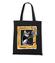 Kot w ramce vintage torba z nadrukiem milosnicy kotow gadzety werprint 1514 160