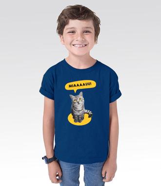Koci alarm - Koszulka z nadrukiem - Miłośnicy kotów - Dziecięca