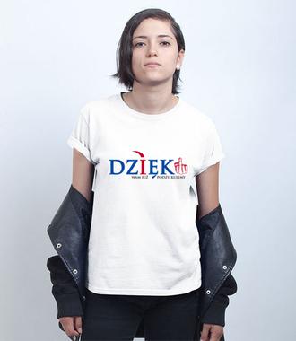 Podziękowania - Koszulka z nadrukiem - Polityczne - Damska