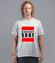 Gorszy sort koszulka z nadrukiem polityczne mezczyzna werprint 1537 45