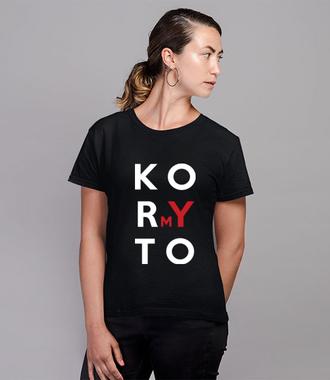 Pomagamy manifestować poglądy - Koszulka z nadrukiem - Polityczne - Damska