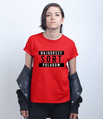Tak się własnie czuję - Koszulka z nadrukiem - Polityczne - Damska