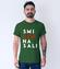 Smiech na sali koszulka z nadrukiem polityczne mezczyzna werprint 1556 193