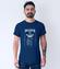 Przepis na udane zycie koszulka z nadrukiem praca mezczyzna werprint 1591 56