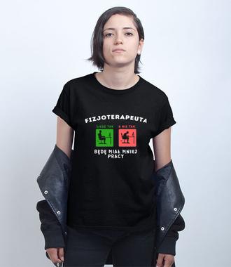 Apel do potencjalnych pacjentów - Koszulka z nadrukiem - Praca - Damska