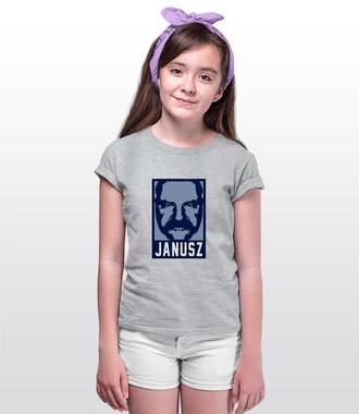 Wizerunek znanego Janusza - Koszulka z nadrukiem - Śmieszne - Dziecięca