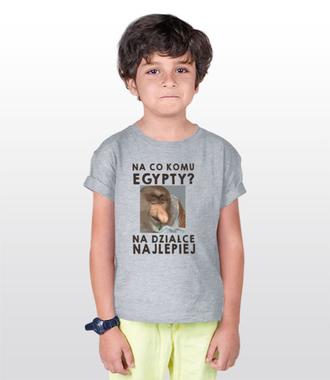 Na działce lepiej - Koszulka z nadrukiem - Śmieszne - Dziecięca