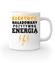 Naladowany pozytywna energia kubek z nadrukiem praca gadzety werprint 1627 159