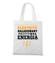 Naladowany pozytywna energia torba z nadrukiem praca gadzety werprint 1627 161