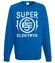 Super elektryk to super bohater bluza z nadrukiem praca mezczyzna werprint 1633 109