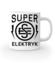 Super elektryk to super bohater kubek z nadrukiem praca gadzety werprint 1632 159