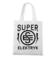 Super elektryk to super bohater torba z nadrukiem praca gadzety werprint 1632 161
