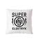 Super elektryk to super bohater poduszka z nadrukiem praca gadzety werprint 1632 164