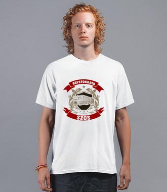 Prestiż z koszulką - Koszulka z nadrukiem - dla kierowcy tira - Męska