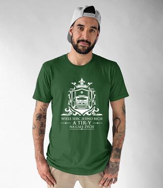 Dla tych co kochają tiry - Koszulka z nadrukiem - dla kierowcy tira - Męska