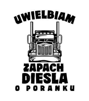 Zapach diesla grafika na koszulke meska 1653