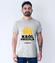 Uwaga krol osiedla nadchodzi koszulka z nadrukiem smieszne mezczyzna werprint 1685 57