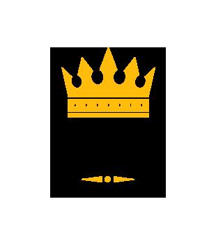 Uwaga krol osiedla nadchodzi grafika na bluze z kapturem meska 1685