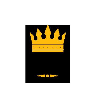 Uwaga krol osiedla nadchodzi grafika na poduszke 1685