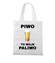 Piwo to moje paliwo torba z nadrukiem smieszne gadzety werprint 1695 161
