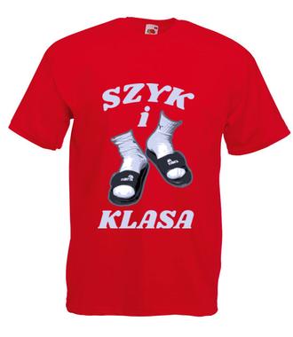 Szyk i klasa - Koszulka z nadrukiem - Śmieszne - Męska