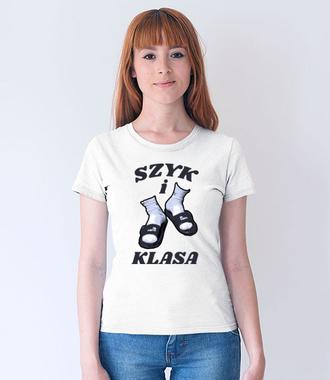 Szyk i klasa - Koszulka z nadrukiem - Śmieszne - Damska