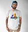 Tata najlepszy kumpel koszulka z nadrukiem dla taty mezczyzna werprint 32 47