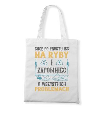 Koszulka do założenia po pracy - Torba z nadrukiem - Wędkarskie - Gadżety