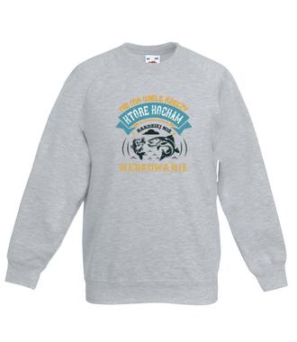 Deklaracja wędkarska na koszulce - Bluza z nadrukiem - Wędkarskie - Dziecięca