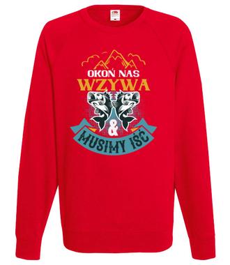 Koszulki dla wędkarskiej grupy - Bluza z nadrukiem - Wędkarskie - Męska