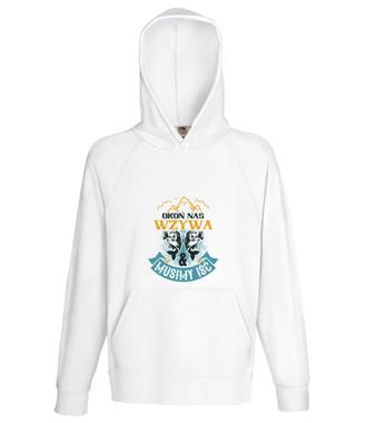 Koszulki dla wędkarskiej grupy - Bluza z nadrukiem - Wędkarskie - Męska z kapturem