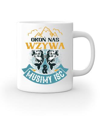Koszulki dla wędkarskiej grupy - Kubek z nadrukiem - Wędkarskie - Gadżety