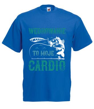 Poczucie humoru i ryby - Koszulka z nadrukiem - Wędkarskie - Męska