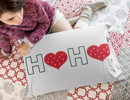 Nadruki swiateczne poduszki