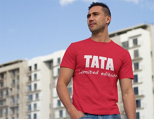 Nadruki na koszulki tata limited edition