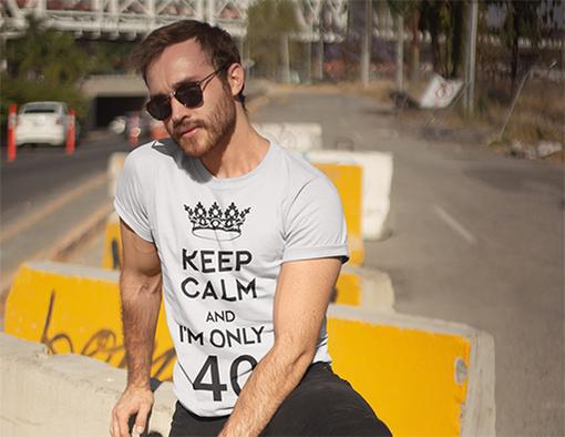 Nadruki na koszulki spokojnie to tylko kolejne urodziny