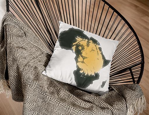 Poduszka z nadrukiem modne grafiki