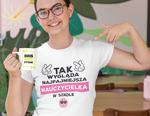 Koszulka dzien nauczyciela 2